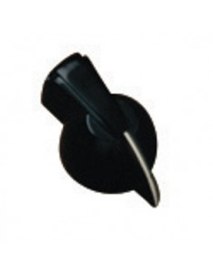 Pomello knob black chicken head per amplificatore a pressione no vite