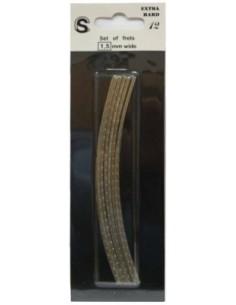 12 stecche da 13 cm tasti pre tagliati curvi frets jumbo guitar bass acustica