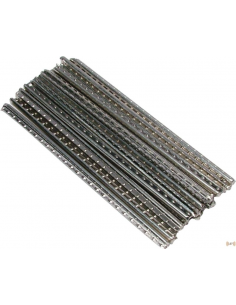 Set di 24 tasti Dunlop 6180 tasti jumbo fret wire per chitarra o basso