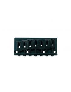 Ponte bridge fisso per chitarra elettrica 7 corde nero black Boston b-1520-7b