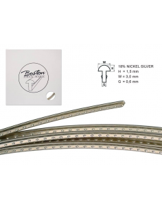 Tasti frets 5m stratocaster telecaster les paul sg filo Boston FW-1530068