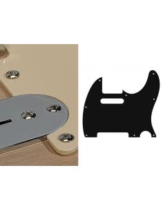 Battipenna pickguard fender Telecaster crema monostrato 8 fori te-110-c