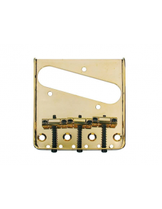 PONTE BRIDGE TIPO FENDER TELECASTER DORATO SELLETTE BARREL BOSTON T-32-G
