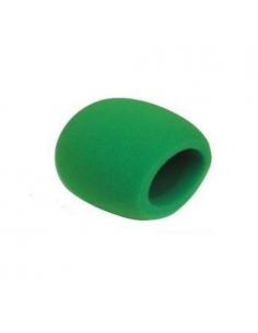 Cover Cuffia parasoffi per microfono verde green ee-028-gr