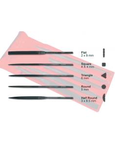 Set di 5 lame liuteria varie misure boston dr-f01-05