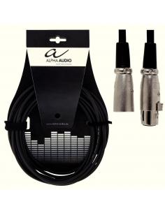 Cavo gewa canon xlr (f) xlr (m) 3 metri microfono professionale 190040