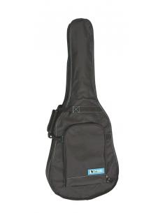 Custodia borsa bag nera Valmusic per chitarra classica in nylon scala 4/4 VAL-CG-39