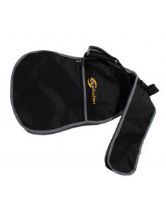 Custodia Borsa Soundsation semplice per chitarra elettrica in nylon nero grigio sbg-10-eg b422b