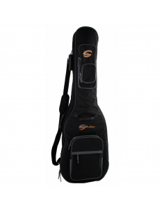 Custodia Borsa Soundsation imbottita 30mm per chitarra acustica nero grigio sbg-30-ag b431b