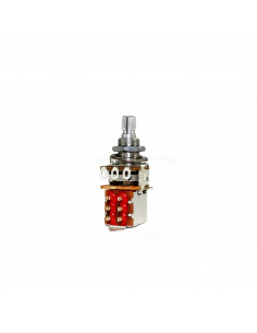 Potenziometro Push Pull 250k ohm log made in Japan PP250KA s269s