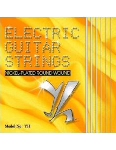 Muta 6 corde per chitarra elettrica Yale Strings Hi Link 10 46 Nickel Wound YH 1046