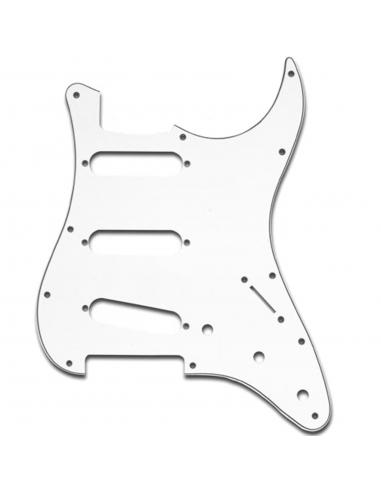Battipenna Chitarra Elettrica Fender Stratocaster Bianco 3 Strati SP-3W