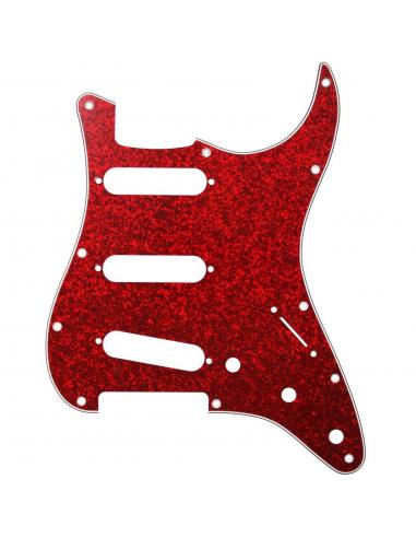 Battipenna Chitarra Elettrica Fender Stratocaster Rosso Sparkle ST-213-SRD